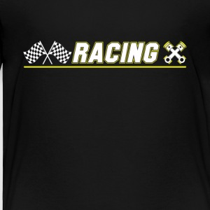 Cool Graphic Racing Tee Shirts - Toddler Premium T-Shirt