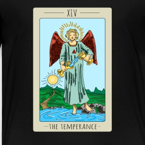The Temperance Tarot Card Tee Shirt - Toddler Premium T-Shirt