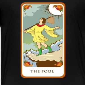 The Fool Tarot Card Tee Shirt - Toddler Premium T-Shirt