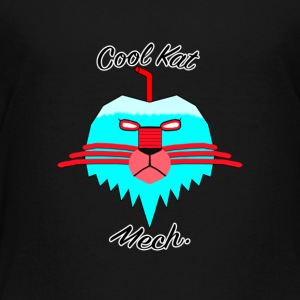 Cool Kat Mech. - Toddler Premium T-Shirt