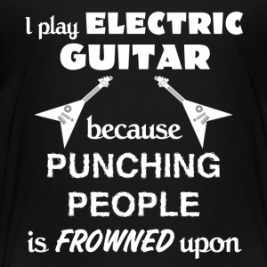 Electric Guitar Love Gift- cool shirt,geek hoodie - Toddler Premium T-Shirt