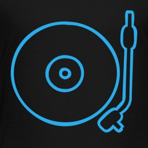 Turntable Icon - Toddler Premium T-Shirt
