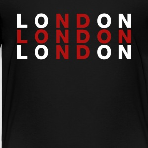 London United Kingdom Flag Shirt - London T-Shirt - Toddler Premium T-Shirt