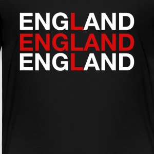 England United Kingdom Flag Shirt - England - Toddler Premium T-Shirt