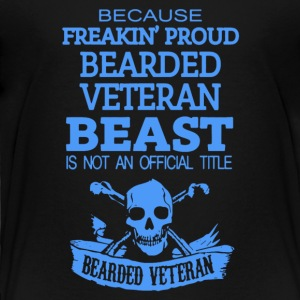 Veteran - Toddler Premium T-Shirt
