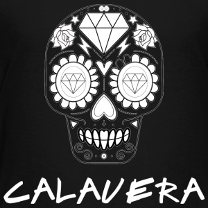 Calavera White - Toddler Premium T-Shirt