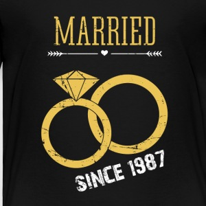 Married since 1987 - Toddler Premium T-Shirt