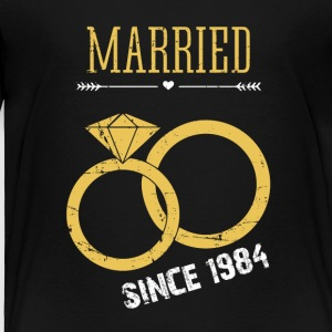 Married since 1984 - Toddler Premium T-Shirt