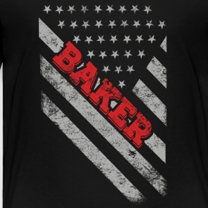 Baker Flag - Toddler Premium T-Shirt