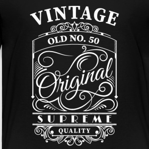 Vintage old no 50 - Toddler Premium T-Shirt