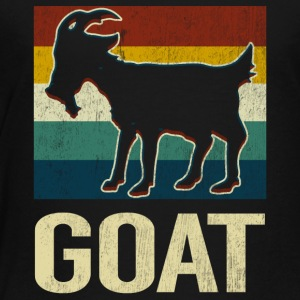 Vintage Style Goat Silhouette Retro Classic Gift - Toddler Premium T-Shirt