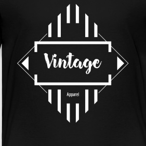 Vintage Apparel Design - Toddler Premium T-Shirt