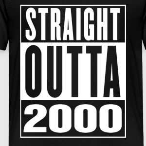 Straight Outa 2000 - Toddler Premium T-Shirt
