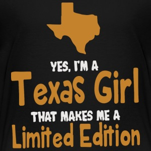 Yes I m a Texas Girl - Toddler Premium T-Shirt