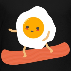 Funny Eggs and Bacon - Toddler Premium T-Shirt
