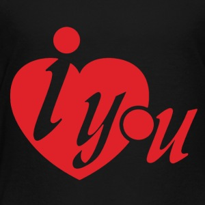 I Heart You Tshirt - Toddler Premium T-Shirt