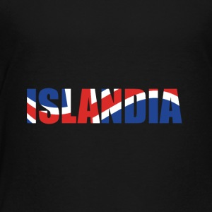 country Islandia - Toddler Premium T-Shirt