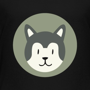Cute dog t-shirt design - Toddler Premium T-Shirt