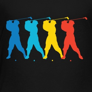 Retro Golf Pop Art - Toddler Premium T-Shirt