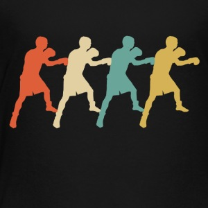 Retro Boxing Pop Art - Toddler Premium T-Shirt