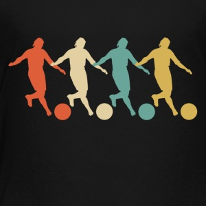 Retro Kickball Pop Art - Toddler Premium T-Shirt