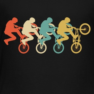 Retro BMX Pop Art - Toddler Premium T-Shirt