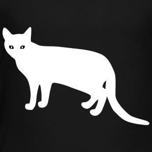 white_cat_from_side - Toddler Premium T-Shirt