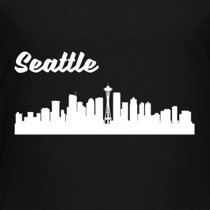 Seattle WA Skyline - Toddler Premium T-Shirt