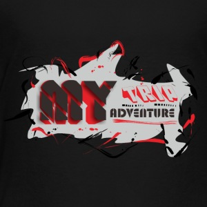MY TRIP MY ADVENTURE - Toddler Premium T-Shirt