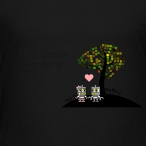 Little Robot Adventure - Robots in love - Toddler Premium T-Shirt