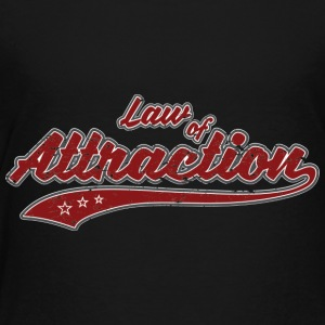 Law of Attraction (retro Color) - Toddler Premium T-Shirt