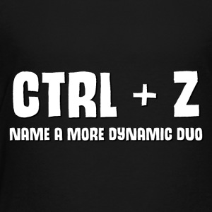 ctrl + z - Toddler Premium T-Shirt