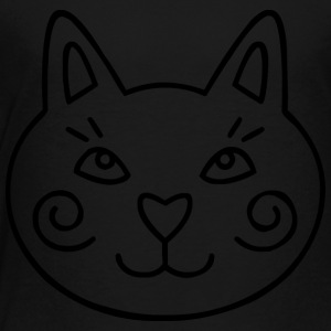 cat-head - Toddler Premium T-Shirt