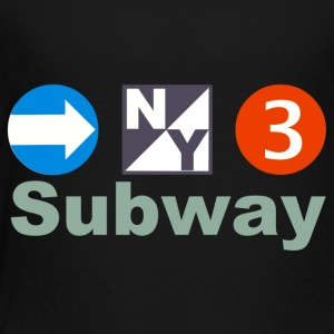 New York Subway - Toddler Premium T-Shirt