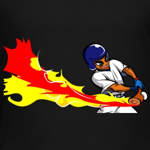 anime baseball batter - Toddler Premium T-Shirt