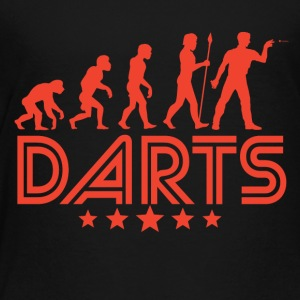 Retro Darts Evolution - Toddler Premium T-Shirt