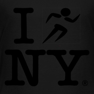 I RUN NY - Toddler Premium T-Shirt