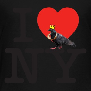 i pigeon ny crown - Toddler Premium T-Shirt