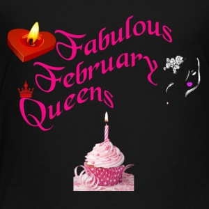 February born - Toddler Premium T-Shirt