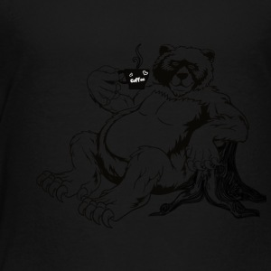 Fort Rock Roasters Coffee Bear - Toddler Premium T-Shirt