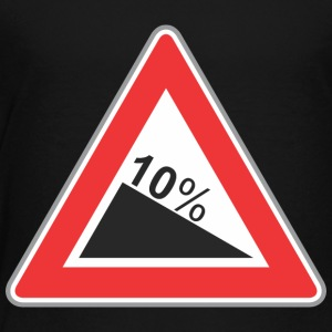Road_Sign_10_percent_angle - Toddler Premium T-Shirt