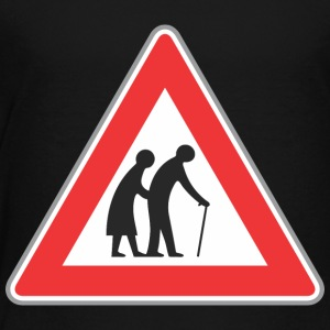 Road_sign_Old_people_red - Toddler Premium T-Shirt