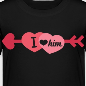 I love him - Toddler Premium T-Shirt