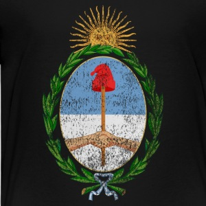 Argentinian Coat of Arms Argentina Symbol - Toddler Premium T-Shirt