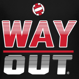 Way Out Volleyball Team Design - Toddler Premium T-Shirt