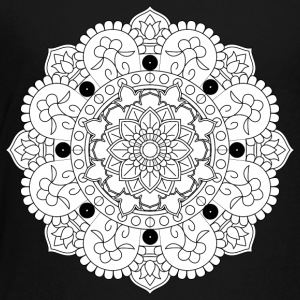 chakraan mandala decorative ornament design - Toddler Premium T-Shirt