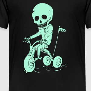 Death Kid Bone Ride - Toddler Premium T-Shirt