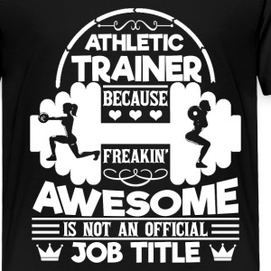 Athletic Trainer Tee Shirt - Toddler Premium T-Shirt