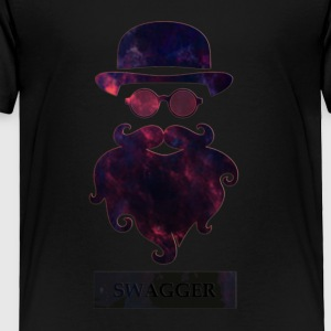 SWAGGER- Beard Swagg - Toddler Premium T-Shirt