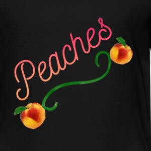 Peaches - Toddler Premium T-Shirt